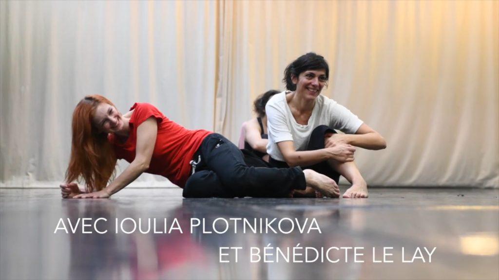 Atelier d'exploration et performance, Ioulia Ptonikova et Bénédicte Le Lay